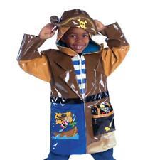 Kidorable Pirate Raincoat Childs Hooded Rain Mac Coat Small-medium