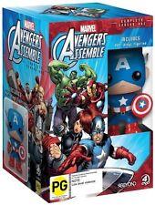 Avengers Assemble Season 1 & Captain America Pop Vinyl DVD R4