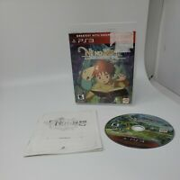 Ni No Kuni Wrath Of The White Witch (Sony Playstation 3 PS3) Complete CIB Tested