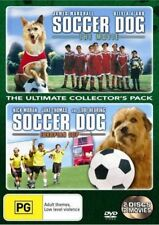 SOCCER DOG The Movie / European Cup 2 DVD set R4 - New