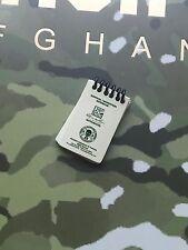 DAMTOYS Elite Ejército británico en Afganistán Bloc de notas Suelto Escala 1/6th