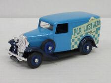 """CITROEN 500 camionnettes dans deux nuances de bleu """"PER 'LUSTUCRU"""", sans NEUF dans sa boîte, eligor, 1:43"""