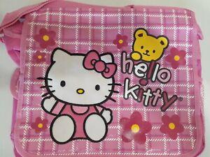 Sanrio Hello Kitty Teddy Messenger Bag School Shoulder Diaper Bag laptop Pink
