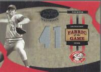 2005 Leaf Certified Materials Fabric of the Game Jersey Number 117 Tom Seaver/41