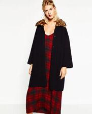 Leopard Faux Fur Popper Coats & Jackets for Women