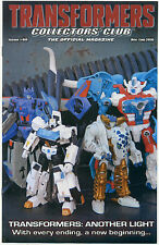 TRANSFORMERS COLLECTORS CLUB MAGAZINE #66 December 2015 / January 2016