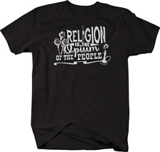 Religion is Opium of the People Drug God Tshirt
