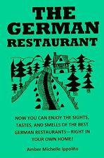GERMAN RESTAURANT COOKBOOK meats DESSERTS +GIFT LOOK@@