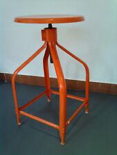 Tabouret atelier industriel Nicolle réglable années 30-40 retro vintage métal