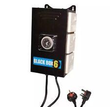 Black Box 6 Way Contactor - Professional Heavy Duty - Hydroponics