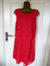 "FABULOUS  LACE  OCCASION DRESS BY NEW LOOK UK-16 BUST 40"" HIPS 42"" LENGTH 36"""