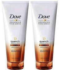 2 Dove Quench Absolute Ultra Nourishing Shampoo for Curly Coarse Hair 8.45oz