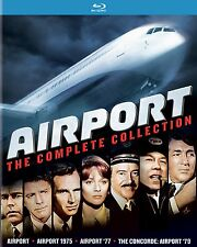 AIRPORT : COMPLETE COLLECTION (4 movies)  - BLU RAY - Region free
