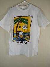 Snoopy Jamaica Graphic  Shirt Sz S/m