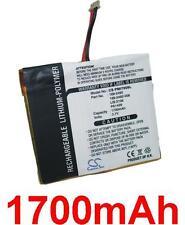 Batterie 1700mAh type 169-2492-V06 LIS2106 LIS2132 PA1429 Pour Palm i705