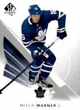 2017-18 SP Authentic Hockey #91 Mitch Marner Toronto Maple Leafs