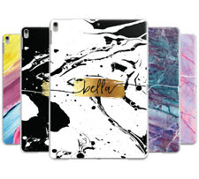 PERSONALISED SWIRL MARBLE NAME INITIALS HARD CASE COVER FOR APPLE IPAD PRO 12.9