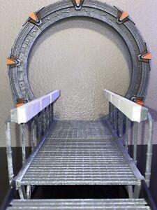 Stargate Diamond Select BAF Complete Gate With Ramp RARE