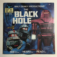 Walt Disney's The Black Hole - 1979 Read-Along Book and Record