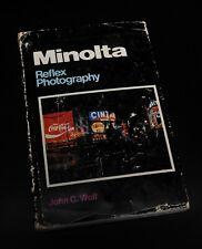New listing Minolta Reflex Photography Book – Everything Minolta Camera System