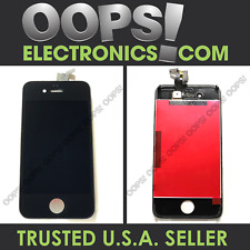 iPhone 4 / 4 CDMA / 4S White Black Screen Replacement LCD Display - US SHIPPING