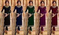Kameez Salwar Suit Indian Pakistani Dress Stitched Designer Shalwar Wear Work
