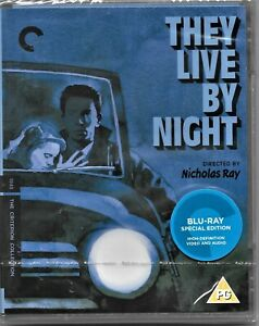 They Live By Night Blu Ray(Criterion Collecion) Region B Inc Registered Post