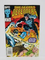 The Secret Defenders #5 - Marvel comics July 1993 - actual pictures - FN/VF