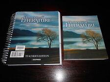 Bob Jones BJU Elements of Literature homeschooling student textbook/te 10thgr