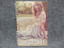 """Taylor Swift Official Spiral Notebook Dock By Lake 8 1/4 X 5 3/4"""" Journal Size"""