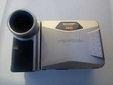 SHARP CAMCORDER VL-AH151 LCD CAMCORDER-Recorder-Player Hi 8 400X PARTS ONLY
