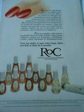 Publicité advertising 1979  RoC produits de maquillage pour les ongles