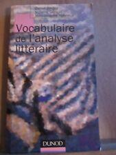Bergez-Géraud-Robrieux: Vocabulaire de l'analyse littéraire/ Editions Dunod,1999