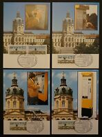 BERLIN ATM MK 1987 VS2 KOMPLETT 4 MAXIMUMKARTEN MAXIMUM CARD MC CM d393