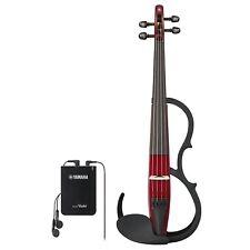 Yamaha Silenzioso elettrica Violino Ysv104 RD Marrone Made in Japan DHL Nave