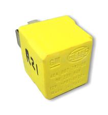 21-Vauxhall Opel /04-15 Multi-Use 4-Pin Yellow Relay 90226846 Hella 4RA007793-06