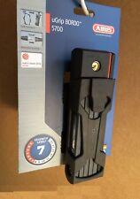ABUS Bordo Ugrip 5700 Bike Lock, Black