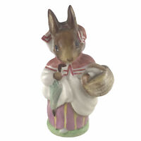 Vintage Beswick England Beatrix Potter Mrs. Rabbit Figurine 1951 Warne & Co.