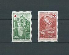 CROIX ROUGE - 1970 YT 1661 à 1662 - TIMBRES NEUFS** LUXE