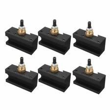 6pcs Tooling Package Mini Lathe Change Tool Post Amp Holders Multifid Tool Holder