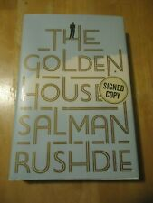 Salman Rushdie book The Golden House signed copy