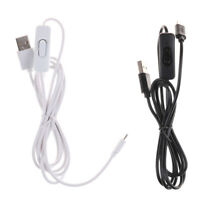 1.5m Micro USB Power Supply Charger Cable Wire ON/OFF Switch FO