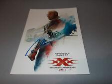 Vin Diesel  Die Rückkehr des Xander Cage  signiert signed Autogramm 20x28 Foto