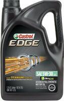 Castrol 03084 EDGE SAE 5W-30 Advanced Full Synthetic Motor Oil, 5 Quart