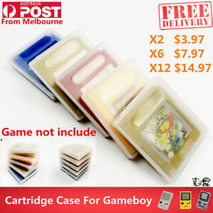 Clear Protective Game Storage Case Cover For Nintendo GameBoy Color DGM GBP GBC
