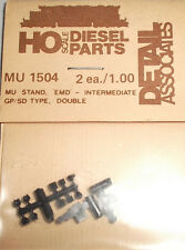 Detail Associates HO #1504 MU Stand - EMD Int GP/SD Double 2 Each