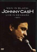 JOHNNY CASH Man In Black Live In Denmark 1971 DVD BRAND NEW PAL Region All