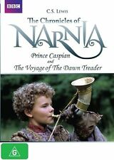 THE CHRONICLES OF NARNIA PRINCE CASPIAN & The Voyage Of The Dawn Treader DVD Z3