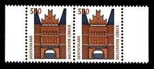 BUND SWK  510 Pf. **, Mi. 1938 (Holstentor, Lübeck) -  Randpaar