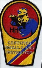 United State Coast Guard Uscg Certified small arms instructor patch 6-3/8X4 in